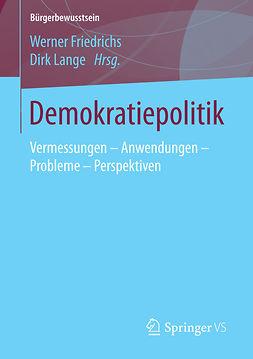 Friedrichs, Werner - Demokratiepolitik, ebook