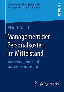 Staffel, Michaela - Management der Personalkosten im Mittelstand, ebook