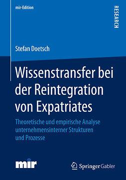 Doetsch, Stefan - Wissenstransfer bei der Reintegration von Expatriates, ebook