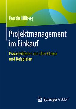 Hillberg, Kerstin - Projektmanagement im Einkauf, ebook