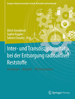 Chaudry, Saleem - Inter- und Transdisziplinarität bei der Entsorgung radioaktiver Reststoffe, ebook