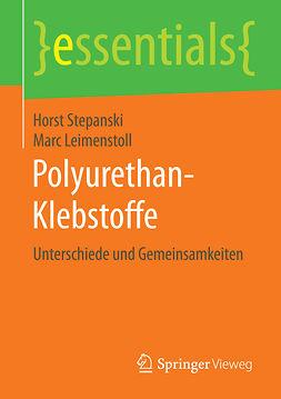Leimenstoll, Marc - Polyurethan-Klebstoffe, ebook