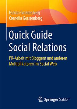 Gerstenberg, Cornelia - Quick Guide Social Relations, e-bok