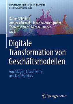 Anzengruber, Johanna - Digitale Transformation von Geschäftsmodellen, ebook