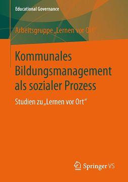 - Kommunales Bildungsmanagement als sozialer Prozess, ebook
