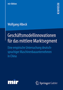 Albeck, Wolfgang - Geschäftsmodellinnovationen für das mittlere Marktsegment, ebook