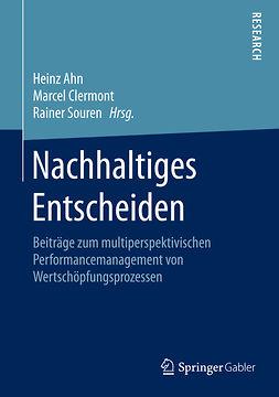 Ahn, Heinz - Nachhaltiges Entscheiden, ebook