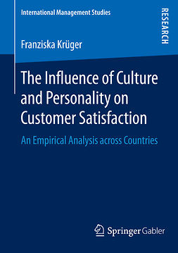 Krüger, Franziska - The Influence of Culture and Personality on Customer Satisfaction, ebook