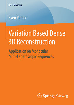 Painer, Sven - Variation Based Dense 3D Reconstruction, ebook