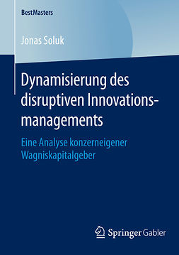 Soluk, Jonas - Dynamisierung des disruptiven Innovationsmanagements, ebook
