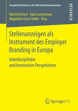 Luttermann, Karin - Stellenanzeigen als Instrument des Employer Branding in Europa, e-kirja