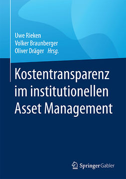 Braunberger, Volker - Kostentransparenz im institutionellen Asset Management, ebook