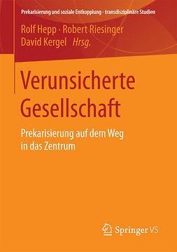 Hepp, Rolf - Verunsicherte Gesellschaft, ebook