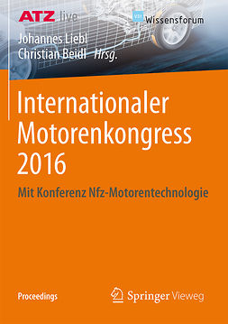 Beidl, Christian - Internationaler Motorenkongress 2016, e-bok