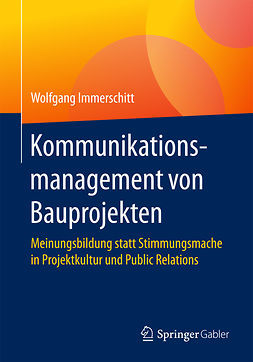 Immerschitt, Wolfgang - Kommunikationsmanagement von Bauprojekten, ebook