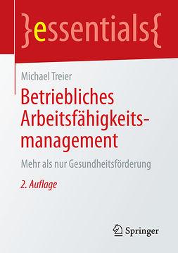 Treier, Michael - Betriebliches Arbeitsfähigkeitsmanagement, ebook