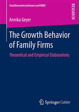 Geyer, Annika - The Growth Behavior of Family Firms, ebook