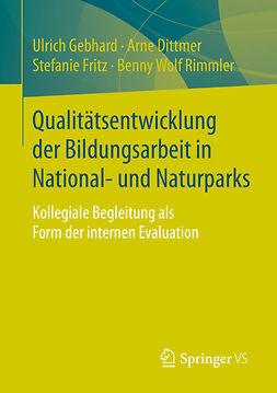 Dittmer, Arne - Qualitätsentwicklung der Bildungsarbeit in National- und Naturparks, ebook