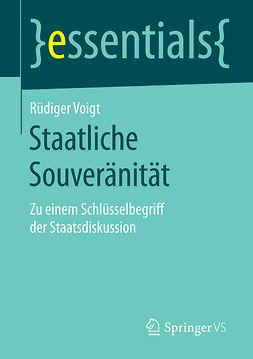 Voigt, Rüdiger - Staatliche Souveränität, ebook