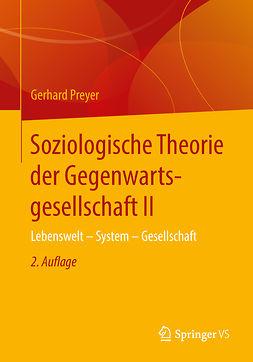 Preyer, Gerhard - Soziologische Theorie der Gegenwartsgesellschaft II, e-bok