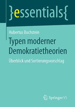 Buchstein, Hubertus - Typen moderner Demokratietheorien, e-bok