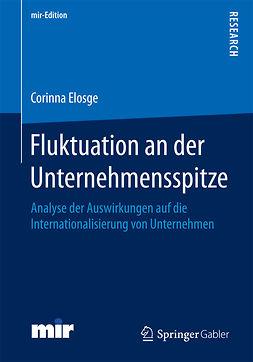 Elosge, Corinna - Fluktuation an der Unternehmensspitze, ebook