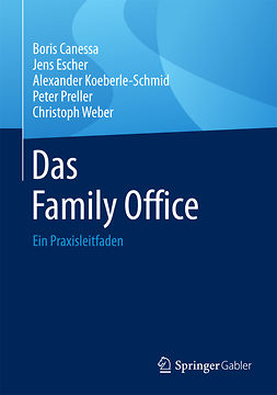 Canessa, Boris - Das Family Office, ebook