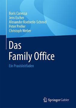 Canessa, Boris - Das Family Office, e-bok