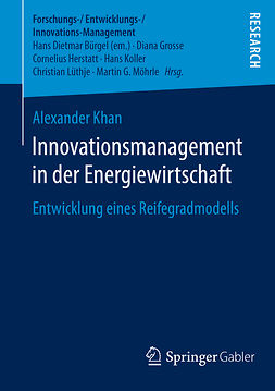 Khan, Alexander - Innovationsmanagement in der Energiewirtschaft, e-kirja