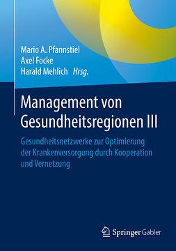 Focke, Axel - Management von Gesundheitsregionen III, ebook