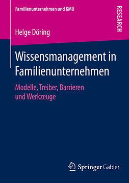 Döring, Helge - Wissensmanagement in Familienunternehmen, e-bok