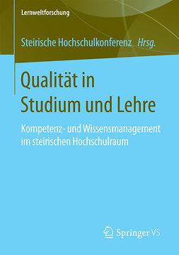 - Qualität in Studium und Lehre, ebook