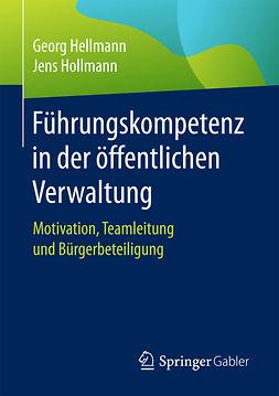 Hellmann, Georg - Führungskompetenz in der öffentlichen Verwaltung, ebook