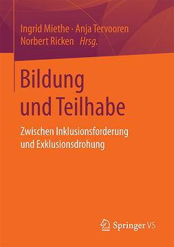 Miethe, Ingrid - Bildung und Teilhabe, e-bok
