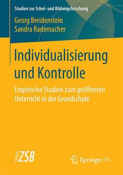 Breidenstein, Georg - Individualisierung und Kontrolle, ebook