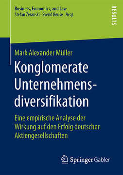 Müller, Mark Alexander - Konglomerate Unternehmensdiversifikation, ebook