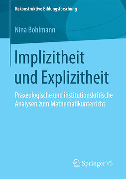 Bohlmann, Nina - Implizitheit und Explizitheit, ebook