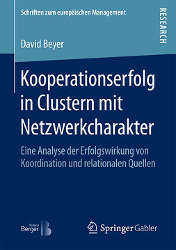 Beyer, David - Kooperationserfolg in Clustern mit Netzwerkcharakter, ebook