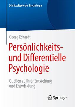 Eckardt, Georg - Persönlichkeits- und Differentielle Psychologie, ebook