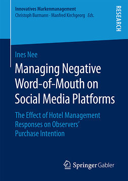 Nee, Ines - Managing Negative Word-of-Mouth on Social Media Platforms, e-kirja
