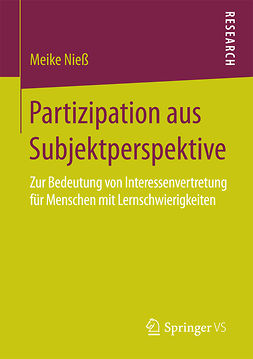 Nieß, Meike - Partizipation aus Subjektperspektive, ebook