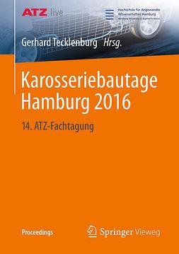 Tecklenburg, Gerhard - Karosseriebautage Hamburg 2016, ebook
