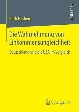 Hasberg, Ruth - Die Wahrnehmung von Einkommensungleichheit, ebook