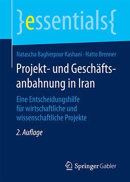 Brenner, Hatto - Projekt- und Geschäftsanbahnung in Iran, e-kirja