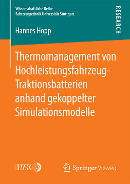 Hopp, Hannes - Thermomanagement von Hochleistungsfahrzeug-Traktionsbatterien anhand gekoppelter Simulationsmodelle, ebook