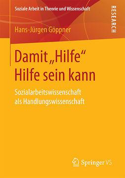 """Göppner, Hans-Jürgen - Damit """"Hilfe"""" Hilfe sein kann, ebook"""