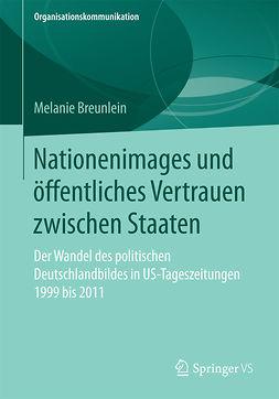 Breunlein, Melanie - Nationenimages und öffentliches Vertrauen zwischen Staaten, ebook