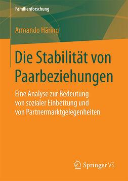 Häring, Armando - Die Stabilität von Paarbeziehungen, ebook