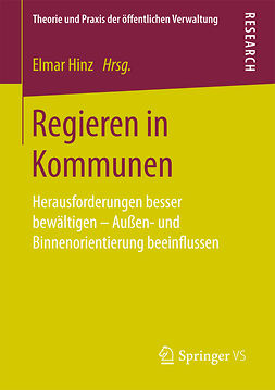Hinz, Elmar - Regieren in Kommunen, ebook