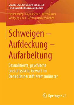 Gmür, Wolfgang - Schweigen – Aufdeckung – Aufarbeitung, ebook